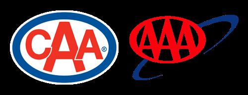 CAA and AAA logos