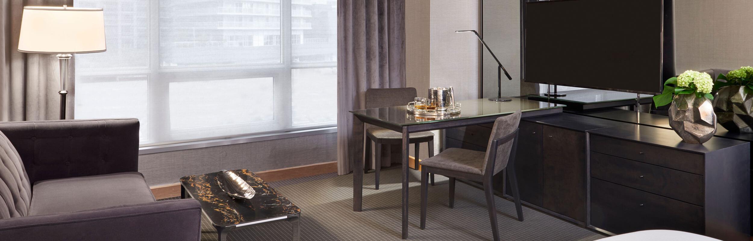 SoHo Hotel renovated luxury room