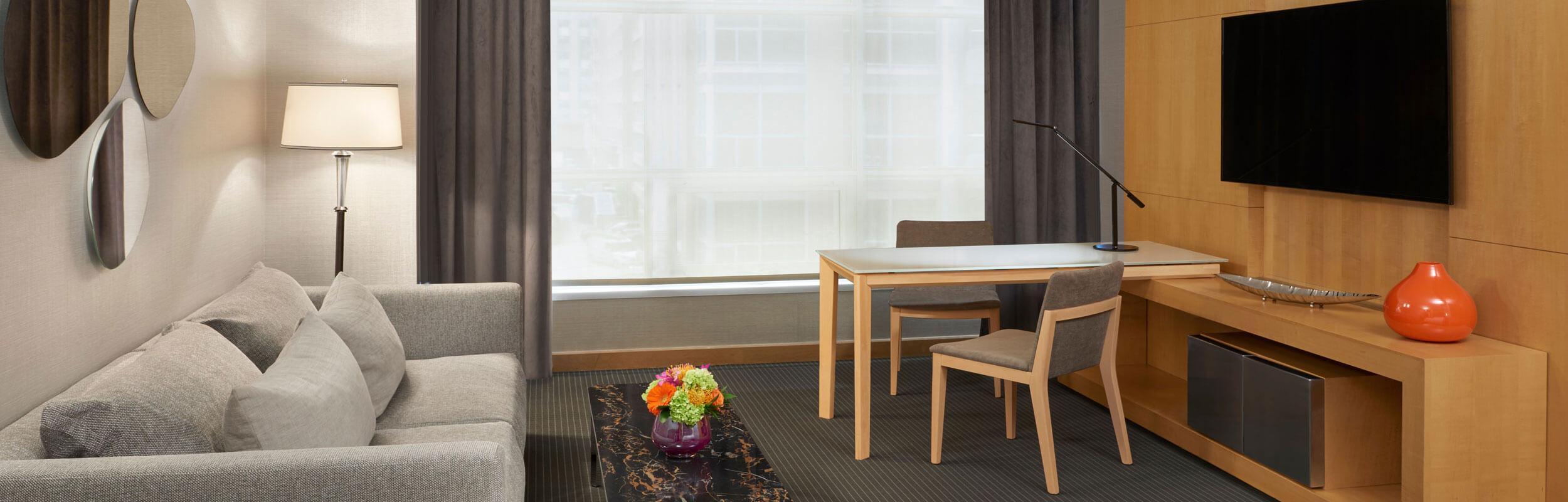 SoHo Hotel renovated premier luxury room