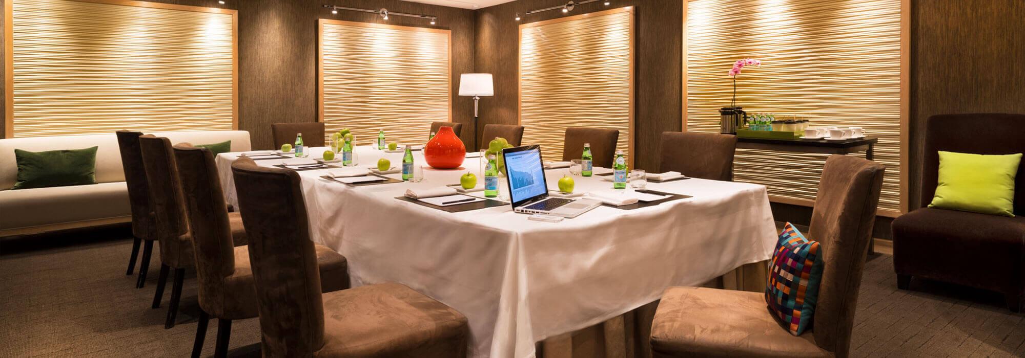 SoHo Hotel amenities Greenwich meeting space