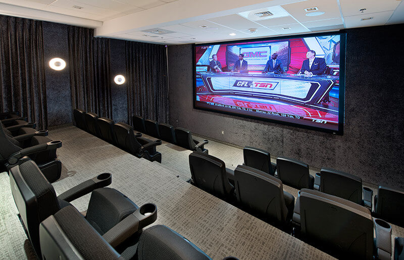 SoHo Lisgar Residences in Ottawa amenities private screening room