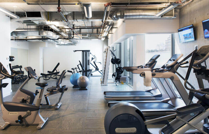 SoHo Champagne Residences in Ottawa amenities Dalton Brown Gym