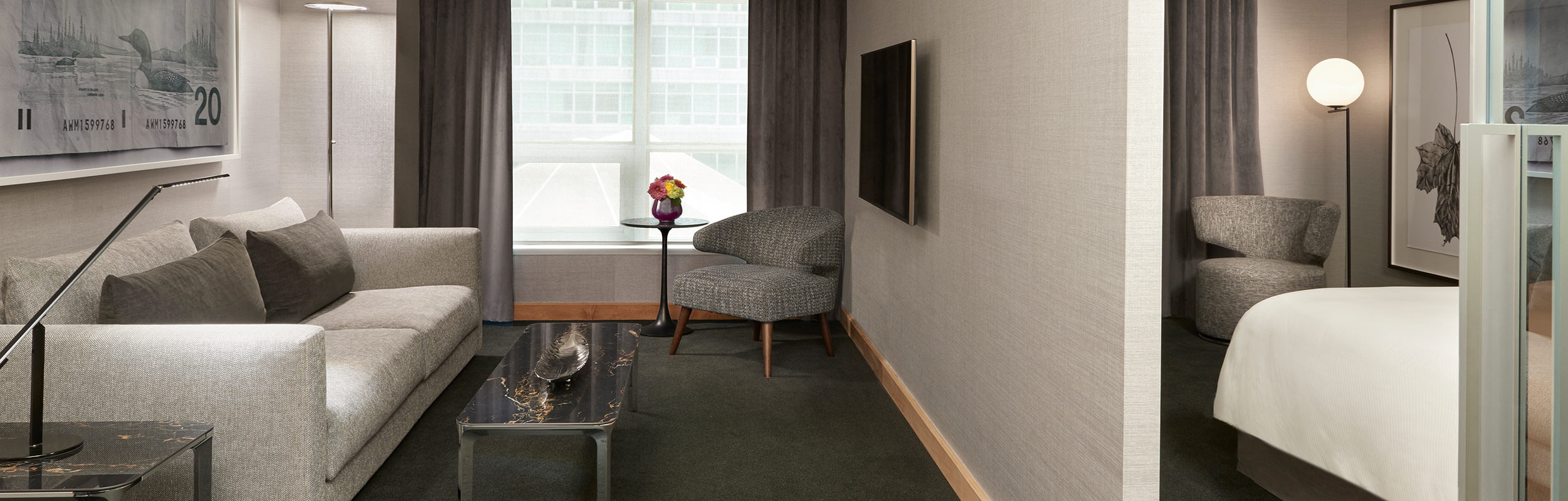 SoHo Hotel renovated premier executive suite