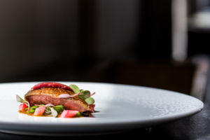 foie gras at Alo restaurant in Toronto