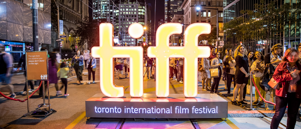 tiff neon sign in Toronto