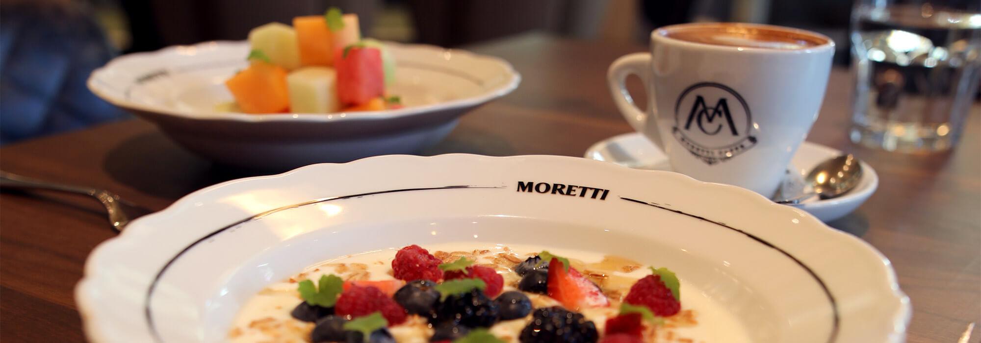 Breakfast at Moretti Restaurant