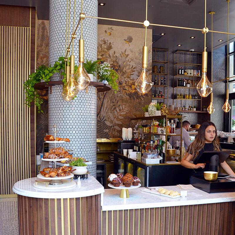 Moretti Caffe counter