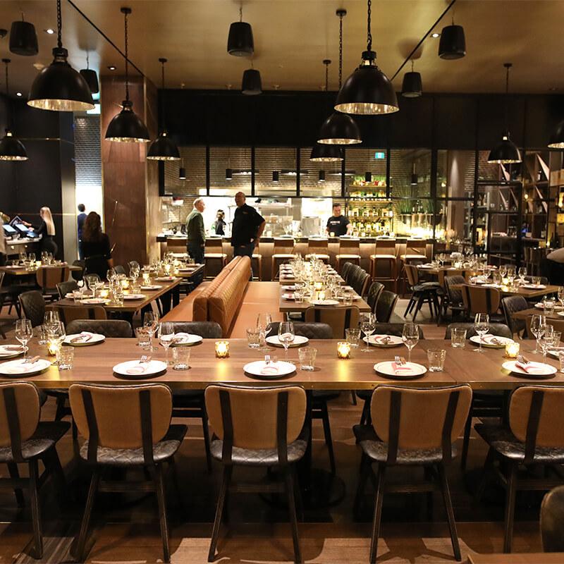 Moretti Restaurant dining area