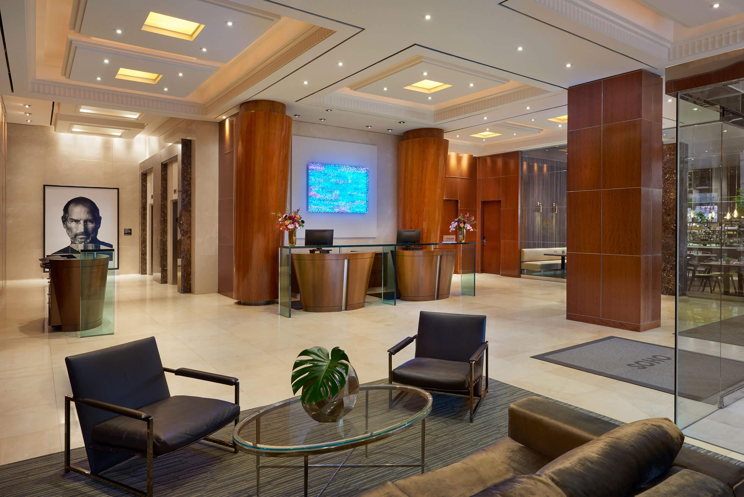 Lobby at The SoHo Hotel