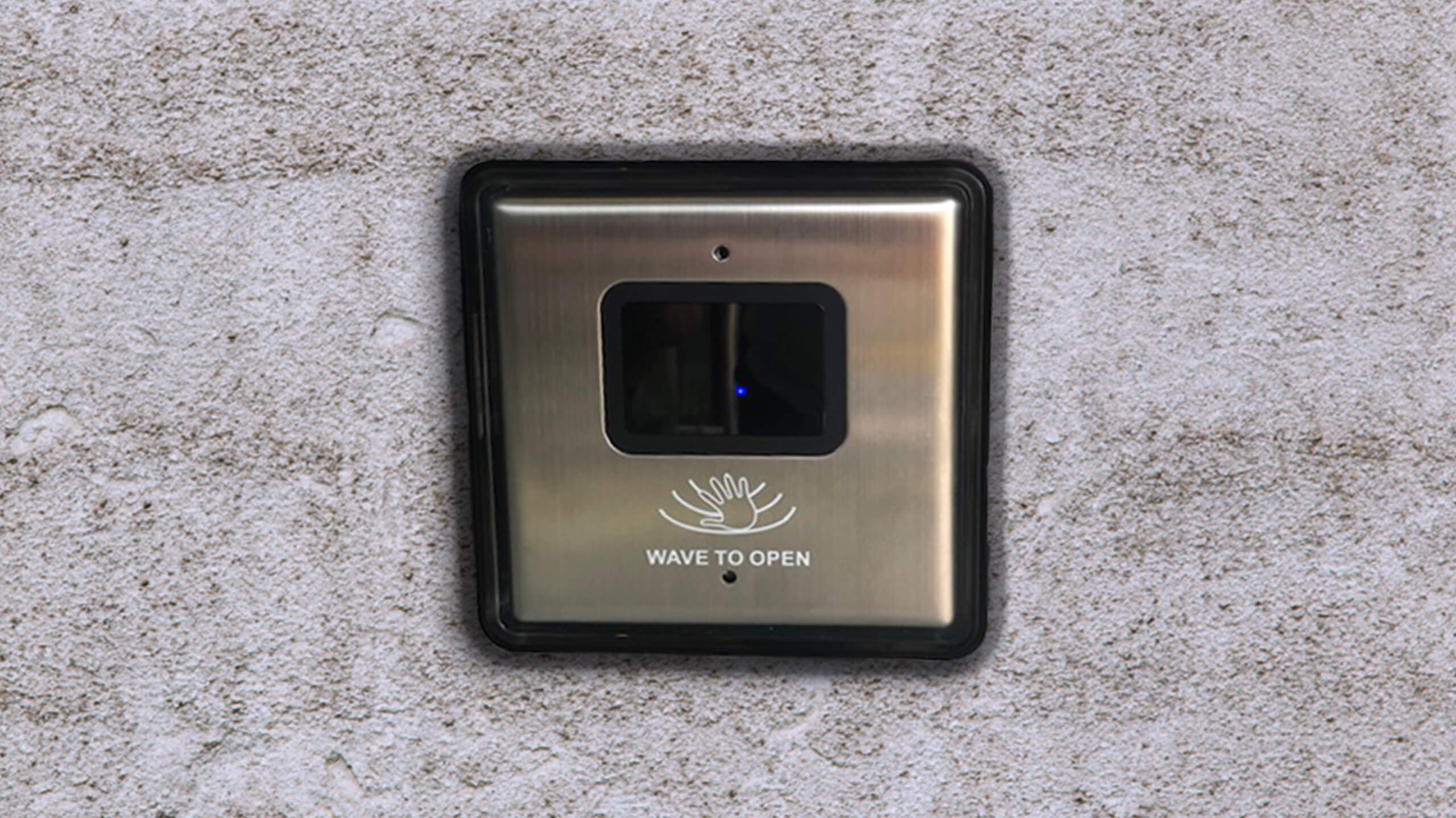 SoHo Hotel touchless wave door sensor